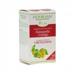 Herbesan Ginkgo Circulation 60 Gélules