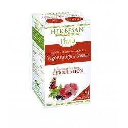 Herbesan Vigne Rouge Circulation 30 Comprimés