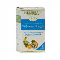Herbesan Valériane Oranger Sommeil 60 Gélules