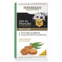 Herbesan Miel de Manuka IAA10+ 8 Pastilles