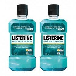 Listerine Duo Pack Fraîcheur Intense Bain de Bouche 2x500ml