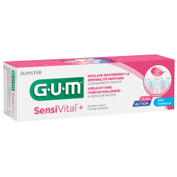 Gum Sensivital+ Dentifrice Fluoré 75ml