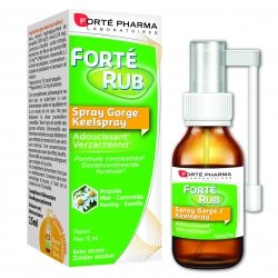 Forte Pharma Forté Rub Spray Gorge 15ml