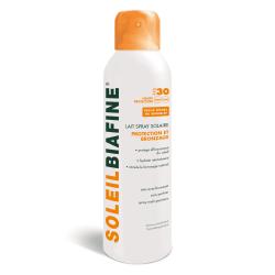 Soleil Biafine Lait Spray Solaire SPF30 150ml