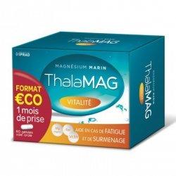 Thalamag Magnésium Marin Vitalité Fer B9 60 Gélules