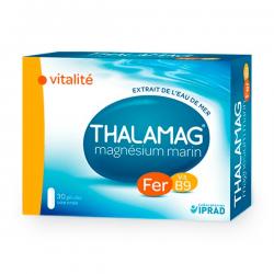 Thalamag Magnésium Marin Vitalité Fer B9 30 Gélules