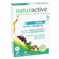Naturactive Dual' Aux Essences Sureau 10 gélules + 10 capsules