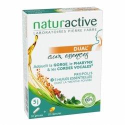 Naturactive Dual' Aux Essences Propolis 10 gélules + 10 capsules