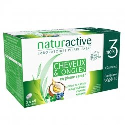 Naturactive Doriance Cheveux & Ongles 2x45 Capsules