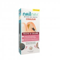 Nailner Mycose des Ongles Traite & Colore 2 x 5ml