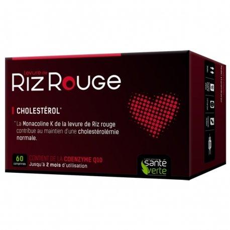 Santé Verte Levure de Riz Rouge 600 mg 60 comprimés