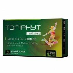 Santé Verte Toniphyt Multinature Bien-être et Vitalité 30 Comprimés