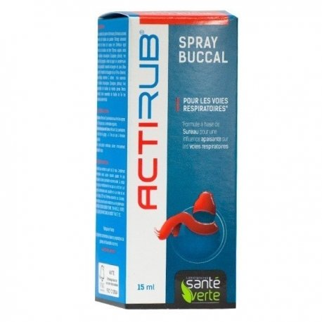 Santé Verte Acti'rub Spray Buccal 15ml