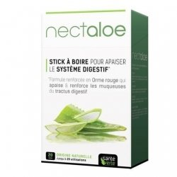 Santé Verte Nectaloe Apaisant Digestion 20 Sticks