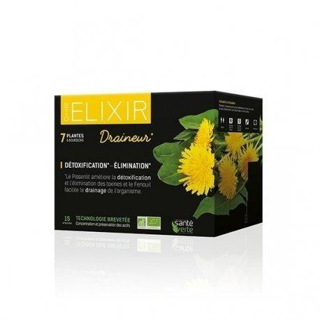 Santé Verte Bio Elixir Draineur 15 ampoules