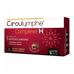 Santé Verte Circulymphe Complexe H 16 comprimés