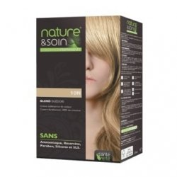 Nature & Soin Coloration Permanente 10N - Blond Suedois