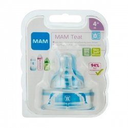 Mam tetine silicone spill-free teat