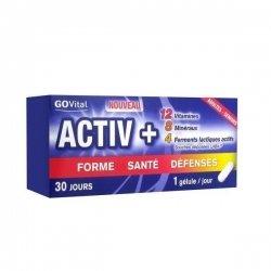 GoVital Activ + Forme Sante Défenses 30 Comprimés