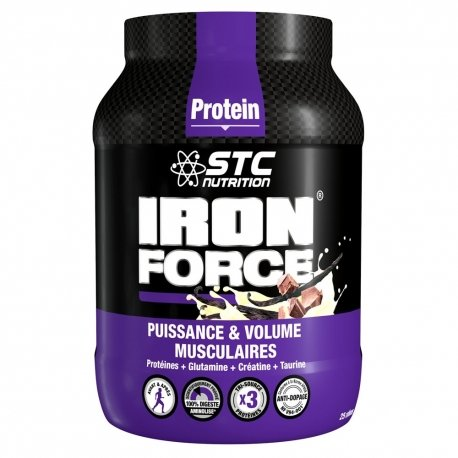 STC Nutrition Protein Iron Force Chocolat 750g