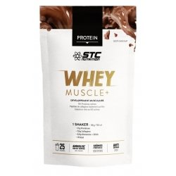 STC Nutrition Protein Whey Muscle+ Chocolat 750g
