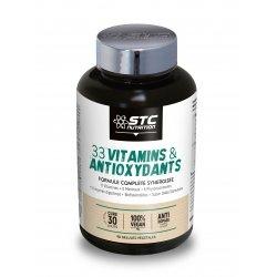 STC Nutrition 33 Vitamins & Antioxydants 90 gélules