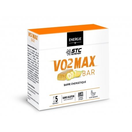 STC Nutrition VO2 Max Bar Banane 5 barres
