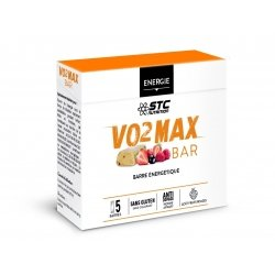STC Nutrition VO2 Max Bar Fruits Rouges 5 barres