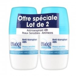 Etiaxil Déodorant Anti-Transpirant 48h Roll-On Duo Pack 2x 50ml