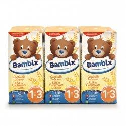 Nutricia Bambix lait croissance cereales-biscuite 3x200ml