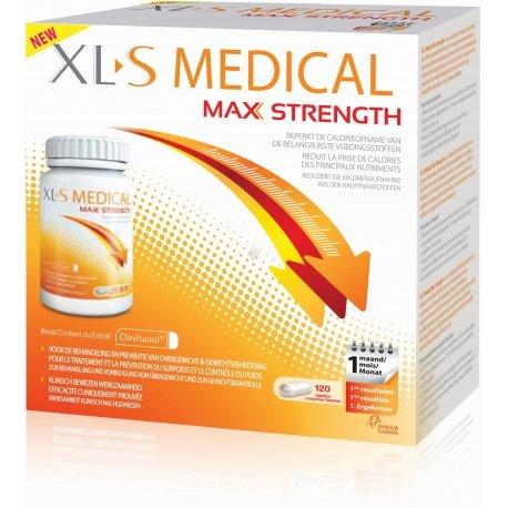 XLS Medical Max Strenght/Extra Fort (120 comprimés)