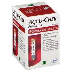 Accu chek performa strips 50 06454011031