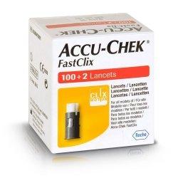 Accu chek mobile fastclix lancets 17x6 5208475001
