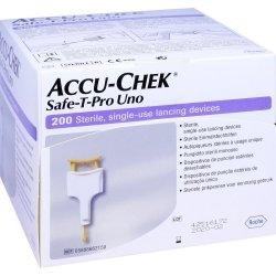 Accu-Chek® Safe-T-Pro Uno Autopiqueurs Stériles 200 pièces