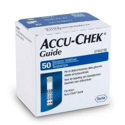 Accu-Chek® Guide Bandelettes Réactives 50 pièces