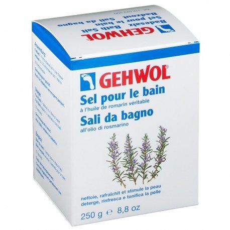 Gehwol Classic Sel de bain pour pieds au Romarin 10x25g