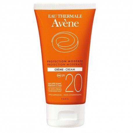Avène Solaire crème protection modérée SPF20 tube 50ml