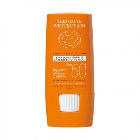 Avène Solaire Stick zones sensibles très haute protection ip50+ 8g
