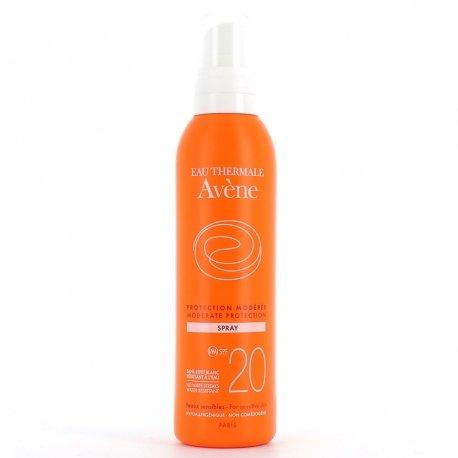 Avène Solaire Spray protection modérée SPF20 200ml