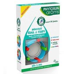 Phytosun Aroms Bracelet Roll & Clips Anti-Moustiques 75ml
