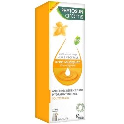 Phytosun Aroms Huile Végétale Rose Musquée Bio 50ml