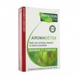 Phytosun Aroms AromaDétox Draineur et Purifiant 20 ampoules de 10ml