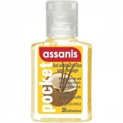 Assanis Pocket Gel Antibactérien Parfum Coco-Vanille 20ml