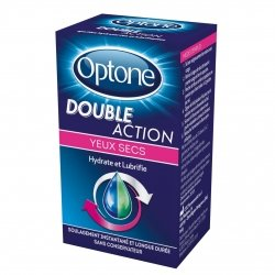 Optone Double Action Yeux Secs 10ml