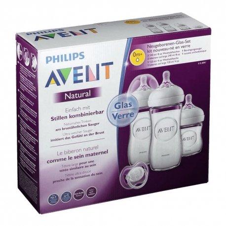 Philips Avent Natural 2.0 Kit Nouveau Ne Verre SCF301/01