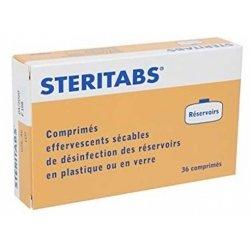 Steritabs Réservoirs 36 comprimés