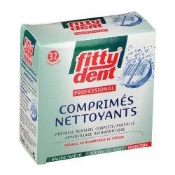 Fittydent Comprimés Nettoyants 32 comprimés