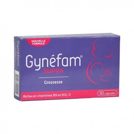 Gynéfam Supra Grossesse 30 capsules