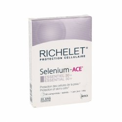 RICHELET Selenium - ACE Essentiel 30+ 30 comprimés