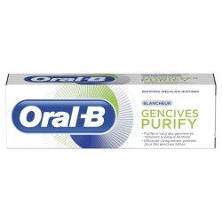 Oral B Gencives Purify Dentifrice Blancheur 75ml